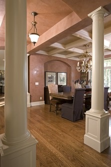 Grand entry into dining room