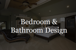 Bedroom and Bathroom Home Design